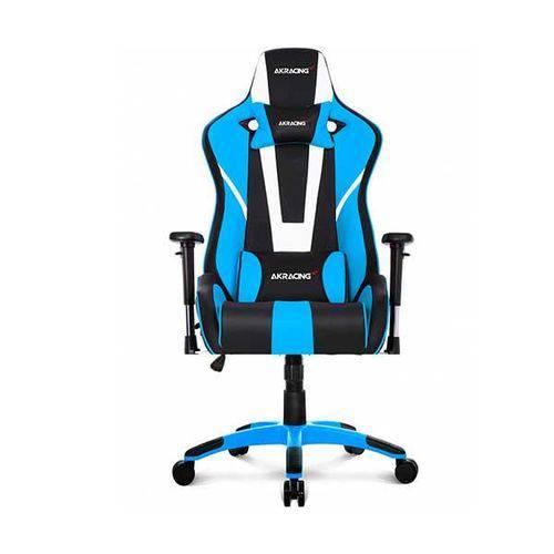 Cadeira Gamer AKRacing Gaming XTRA CP-8 Extra Large Preto/Branco/Azul, 10262-1