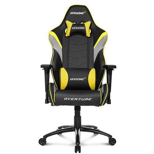 Cadeira Gamer Akracing Overture Yellow (10523-1)
