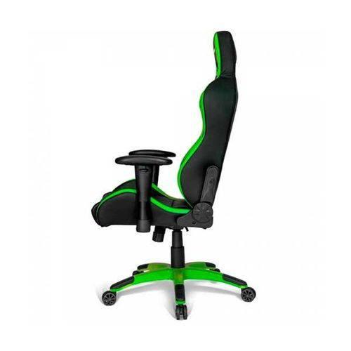 Cadeira Gamer AKRacing Premium V2 Gaming Preto/Verde, 10215-9