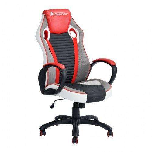 Cadeira Gamer Bronze Bluecase Cor: Vermelho, Cinza e Preto Bch26rgybk