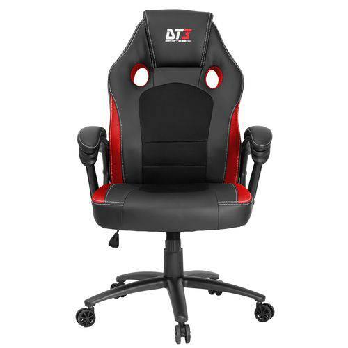 Cadeira Gamer Giratória GT Vermelha e Preto DT3sports