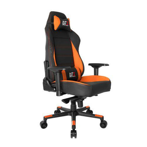 Cadeira Gamer Orion Frog Laranja e Preta DT3Sports