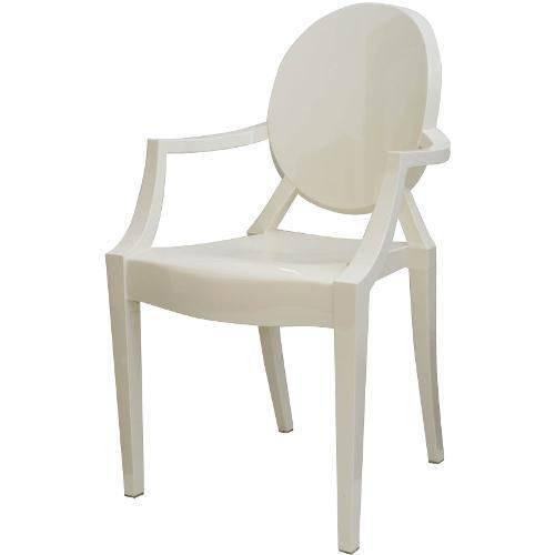 Cadeira Ghost 1106 Branca