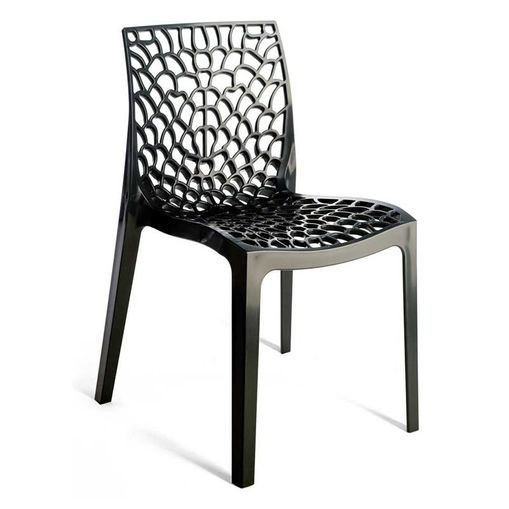 Cadeira Gruvyer Preta OR Design