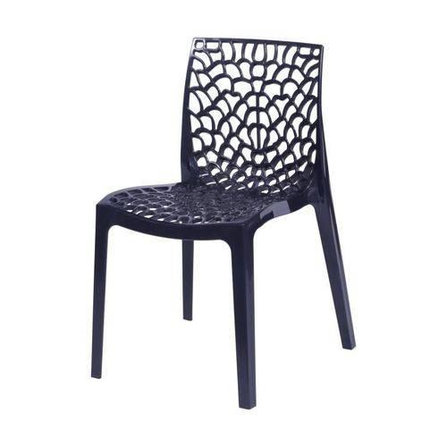 Cadeira Gruvyer - Preta - ÓR Design