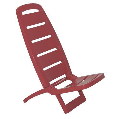 Cadeira Guaruja Vermelho