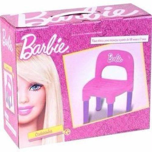 Cadeira Infantil Barbie Bb6010 Fun