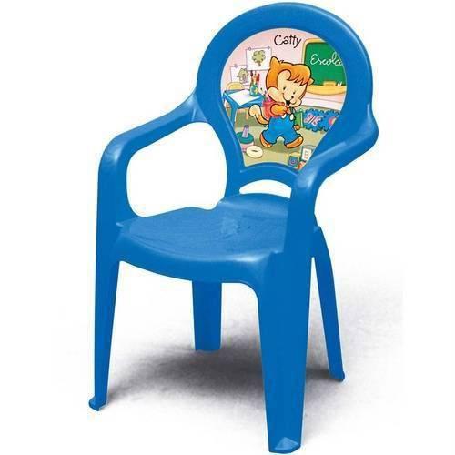 Cadeira Infantil Catty Azul Tramontina