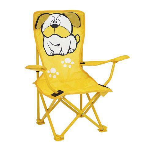 Cadeira Infantil Dobrável Bulldog de Aço - Mor