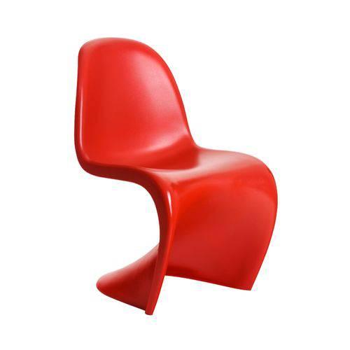 Cadeira Infantil Panton Junior - Vermelho Fosco