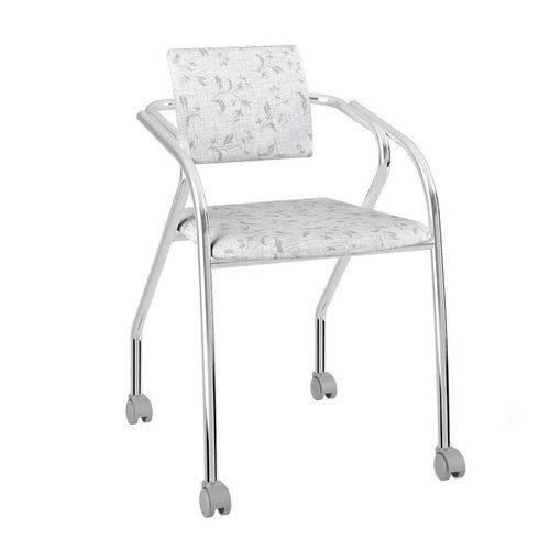 Cadeira Jersey Carraro Fantasia Branco