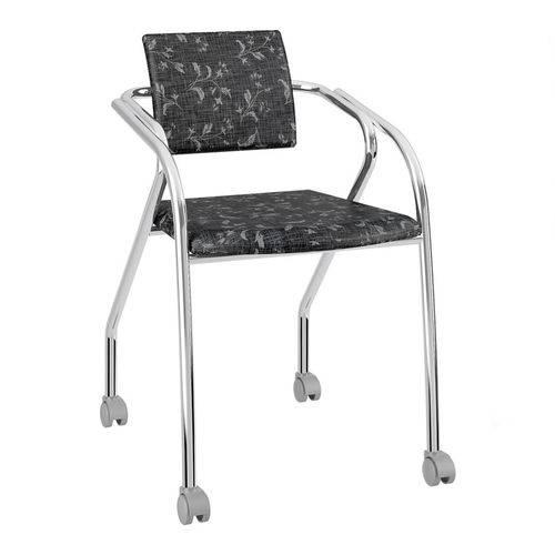 Cadeira Jersey Carraro Fantasia Preto