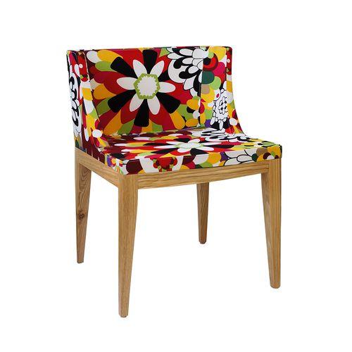 Cadeira Mademoiselle Estampa a - Madeira Clara Estampa a