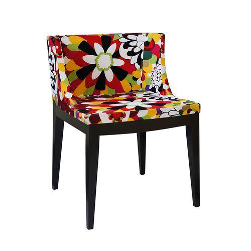 Cadeira Mademoiselle Estampa a - Madeira Escura Estampa a