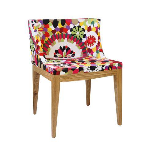 Cadeira Mademoiselle Estampa B - Madeira Clara Estampa B