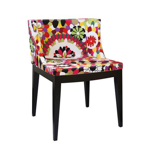 Cadeira Mademoiselle Estampa B - Madeira Escura Estampa B