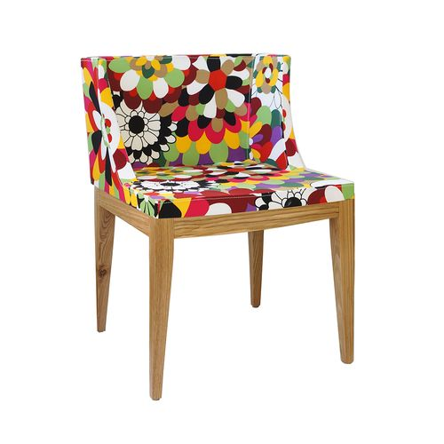 Cadeira Mademoiselle Estampa C - Madeira Clara Estampa C