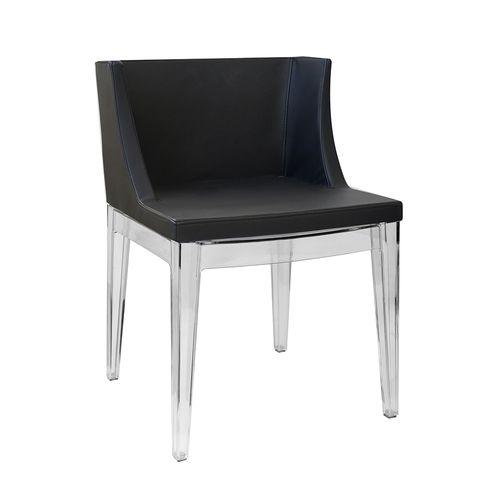 Cadeira Mademoiselle Preta Preta