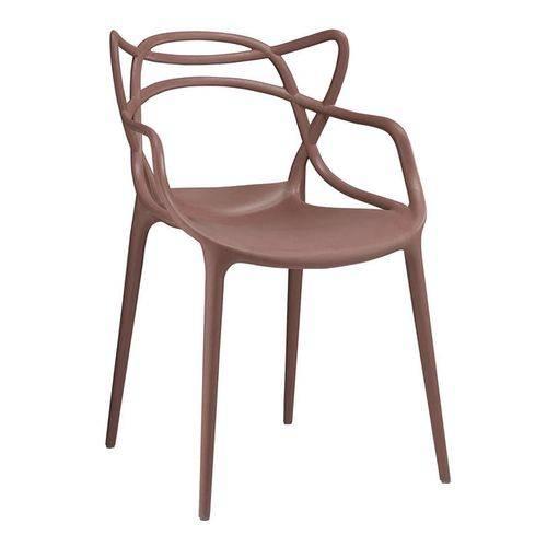 Cadeira Masters Allegra - Marrom