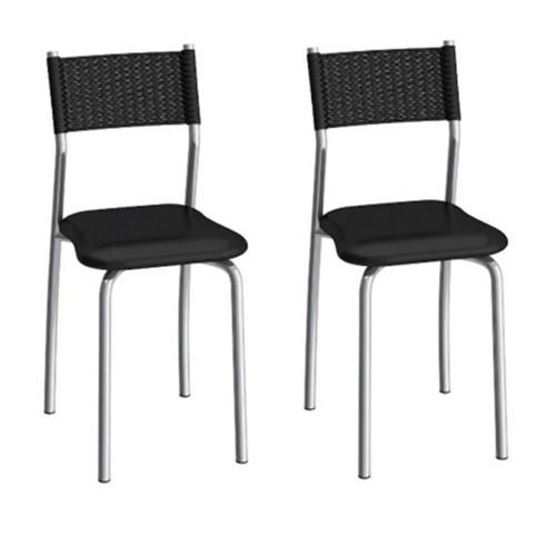 Cadeira Mônaco C142 2 Unidades - Compoarte | Elare
