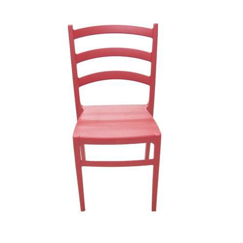 Cadeira Nadia Sem Braço Vermelho Summa - Tramontina