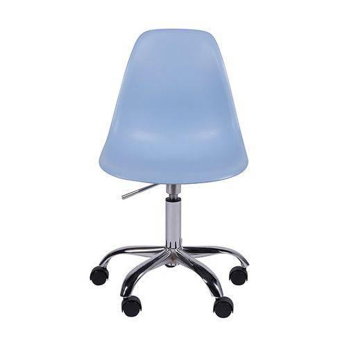 Cadeira Office Eames Dkr de Polipropileno Azul