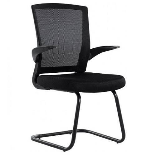Cadeira Office Fixa Braço Reclinável 3314F - Preto