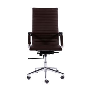 Cadeira Or Design Assento e Encosto PU OR-3301 Alta Café
