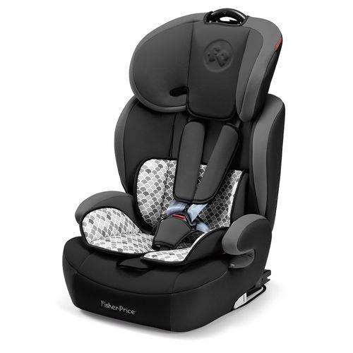 Cadeira para Auto de 9 a 36 Kg - Safemax Fix - Cinza - Fisher-Price