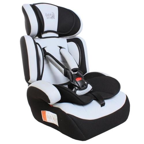 Cadeira para Auto de 9 a 36Kg Bebê Faceiro Preto/Cinza Preto/Cinza