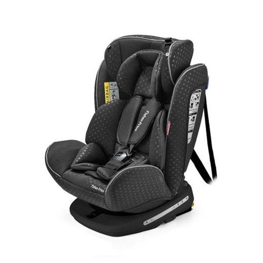 Cadeira para Auto Easy 360 Fix 0 a 36 Kg Preta - Fisher Price Cadeira para Auto Easy 360° Fix 0 a 36 Kg Preta - Fisher Price
