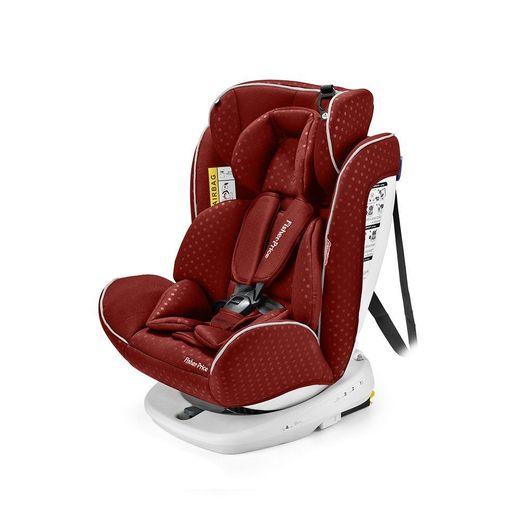 Cadeira para Auto Easy 360° Fix 0 a 36 Kg Vermelha - Fisher Price