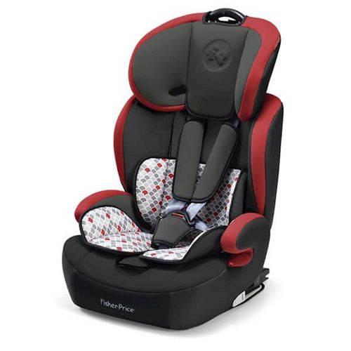 Cadeira para Auto Fisher-price 9-36 Kg (i, Ii, Iii) Vermelho Bb563 Multilaser