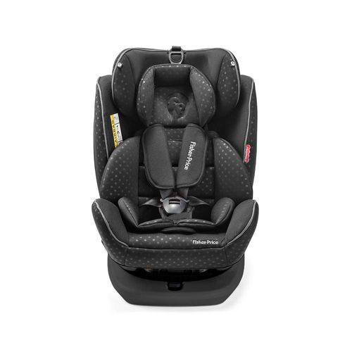 Cadeira para Auto Fisher Price Easy 360 Fix 0-36 Kgs (0,I,II,III) Preta Multikids Baby - BB573 BB573