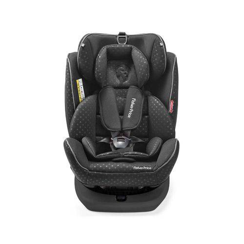 Cadeira para Auto Fisher Price Easy 360 Fix 0-36 Kgs (0,I,II,III) Preta Multikids Baby - BB573