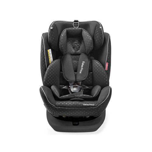Cadeira para Auto Fisher Price Easy 360 Fix 0-36kg (0,i,ii,iii) Preta Multikids