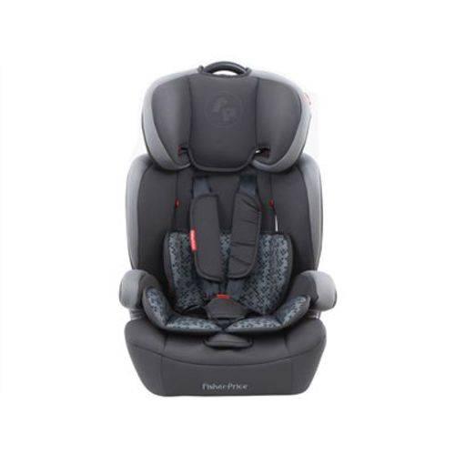 Cadeira para Auto Fisher Price Safemax Isofix Cinza 9 a 36 Kg