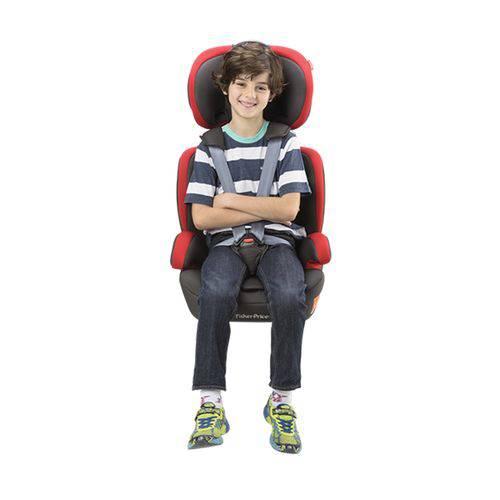 Cadeira para Auto Safemax Fix - Fisher-Price - de 9 à 36kgs - Vermelho