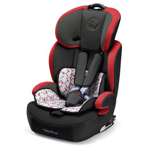 Cadeira para Auto Safemax Fix Vermelho - Fisher Price Cadeira Vermelha para Auto Fisher Price 9 a 36 Kg - Multikids