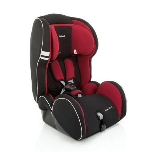 Cadeira para Auto Star Plus 9 a 36 Kg Cor Cherry Imp91134 – Infant