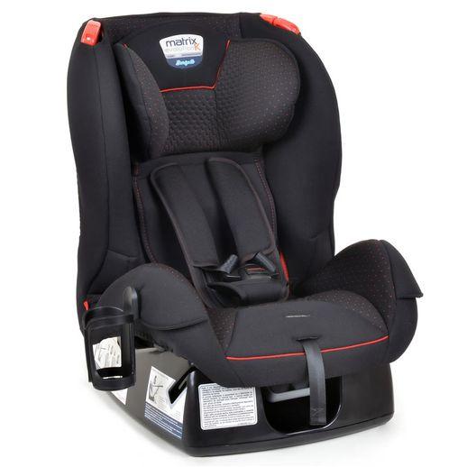 Cadeira para Automóvel Matrix Evolution K 0 a 25kg Preto/Vermelho - Burigotto