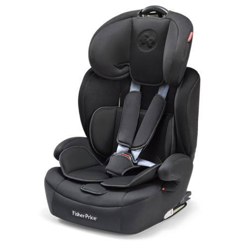 Cadeira para Carro Safemax Fix Fisher Price Preto