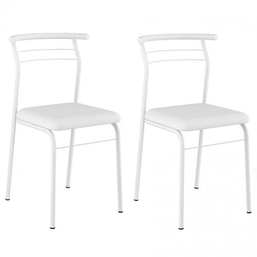 Cadeira Pintada 1708 02 Unidades - Carraro 1708