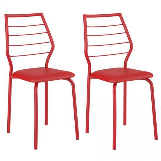 Cadeira Pintada 1716 02 Unidades - Carraro 1716.2PP 17162PP