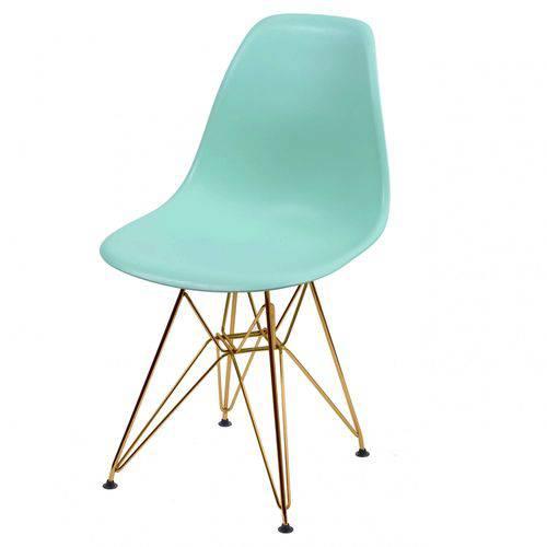 Cadeira Polipropileno Base em Metal OR Design Tiffany
