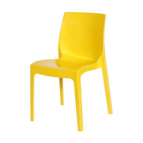Cadeira Polipropileno Ice OR Design Amarelo
