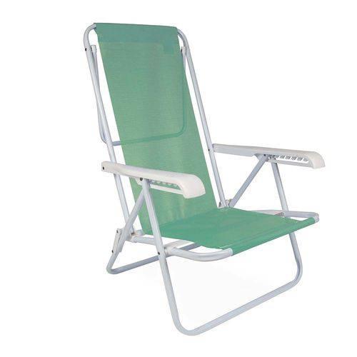 Cadeira Reclinável 8 Posiçoes Aço Sannet - Mor