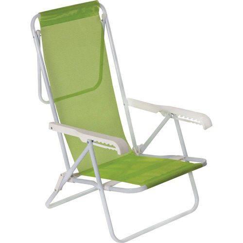 Cadeira Reclinável 8 Posições Sannet Verde Mor