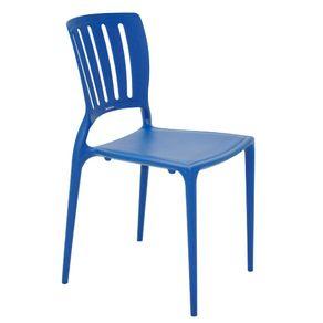 Cadeira Sofia Encosto Vaz Vert Azul 92035/030 Tramontina