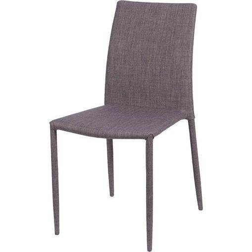 Cadeira Tecido Marrom OR Design 4403